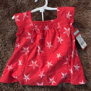 Girls 4th of July summer outfit